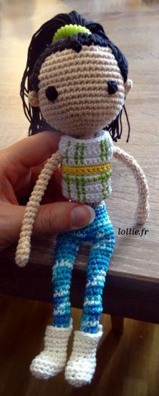 Crochet doll - Jill