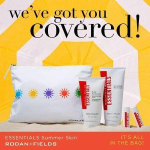 Giveaway! $70 Rodan + Fields summer essentials!