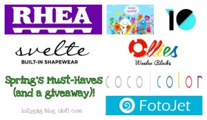 Spring's must-haves (and giveaways)!