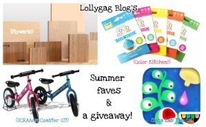 A summer faves roundup- and a giveaway!