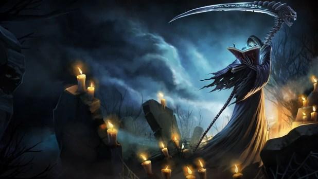 Grim Reaper Karthus Chinese Art