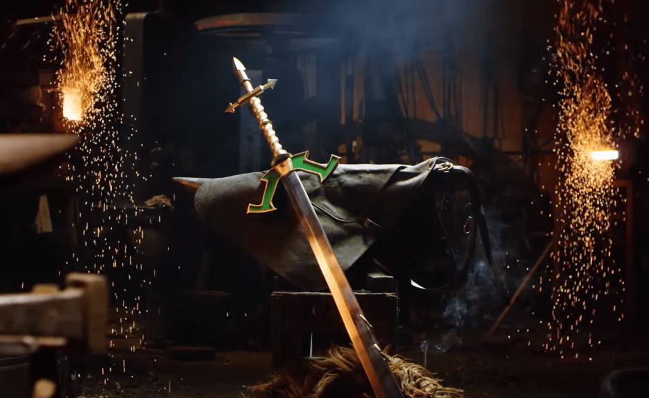 Master Yi's Ring Sword from League of Legends In Real Life
