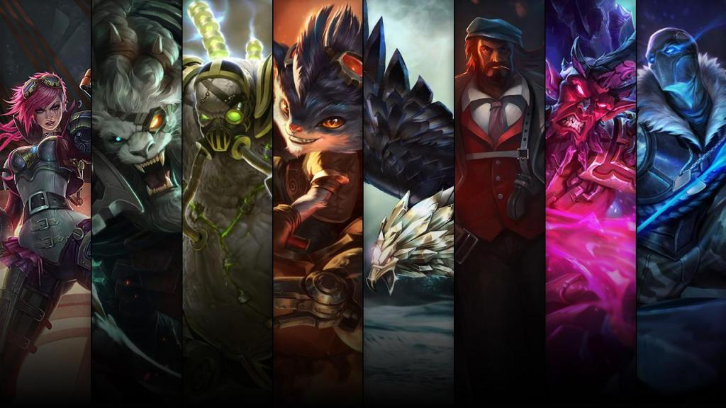 Champion and skin sale: 07.18 – 07.21