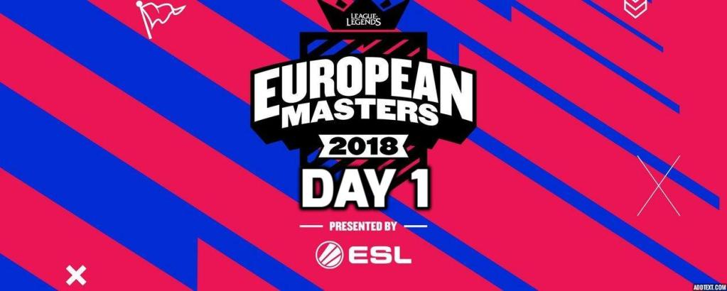 Highlights of the European Masters Main Event, Day 1