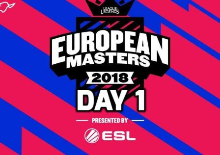League of Legends European Masters Day 1 Highlights