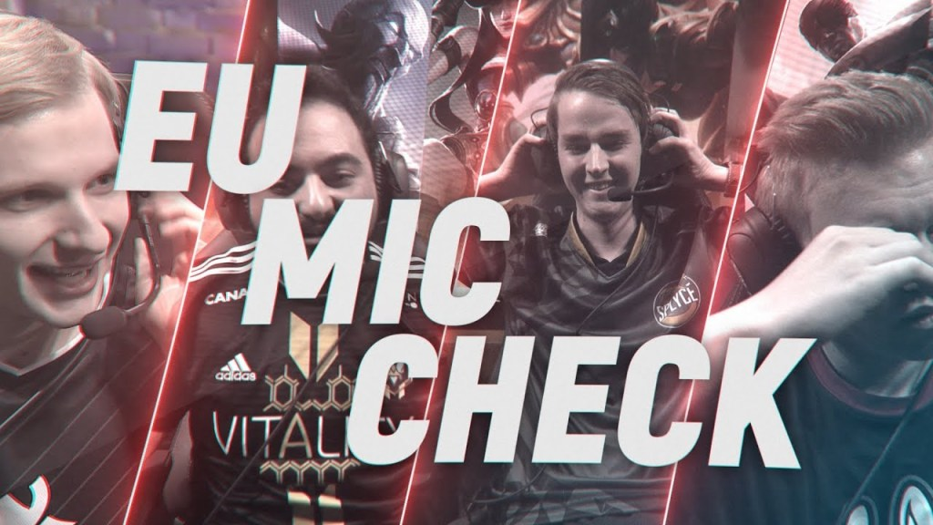 Mic checks – EU LCS Finals, Spring Split