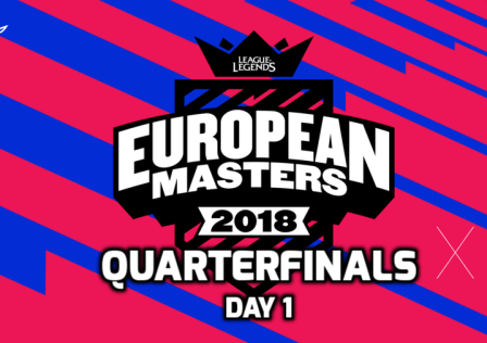European Masters Quarterfinals Day 1