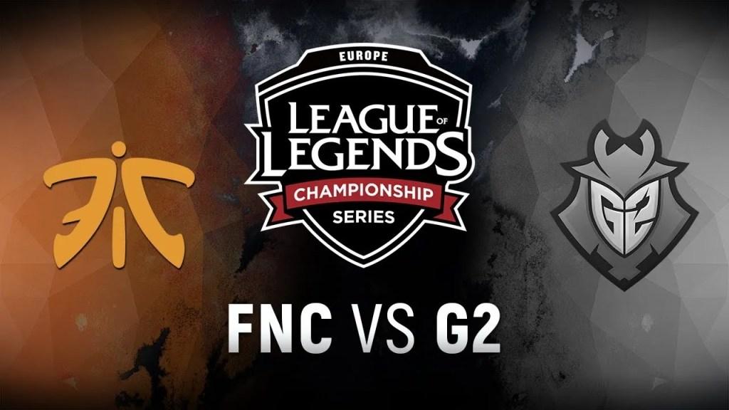 Fnatic vs G2, EU LCS Spring Split Final 2018