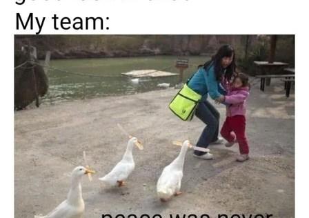 League of Legends Memes – Peace was never an option