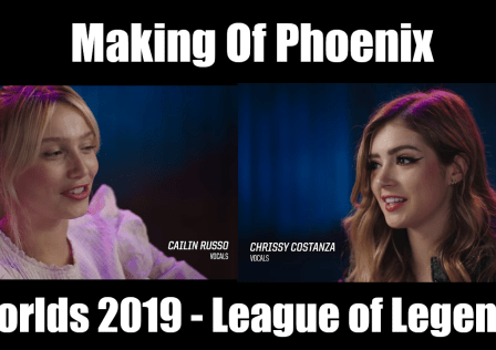 Making of Phoenix - Worlds 2019 - League of Legends