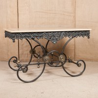 LOLO FRENCH ANTIQUES FRENCH BUTCHER/PASTRY TABLE - Lolo ...