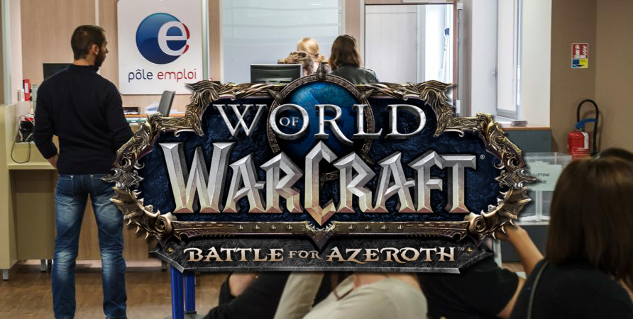 Battle for Azeroth: introduction du nouveau métier « Chômage »