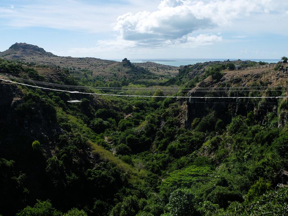 Rodrigues - Pont de singe à Bras Pistache