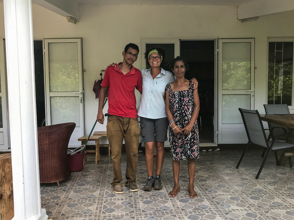 Rodrigues - Bernard, Adelette et Laurence
