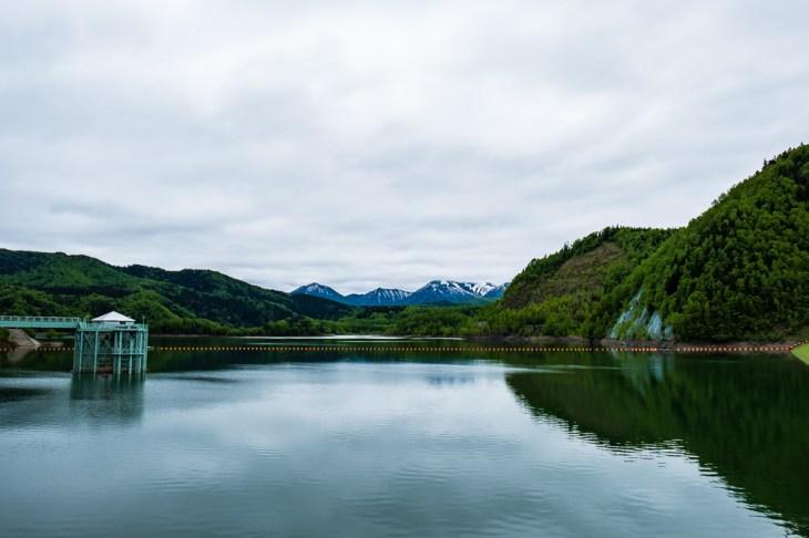 Lac du barrage Taisetsu Dam