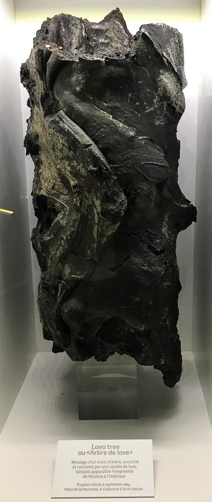 Arbre de lave - Cité du Volcan