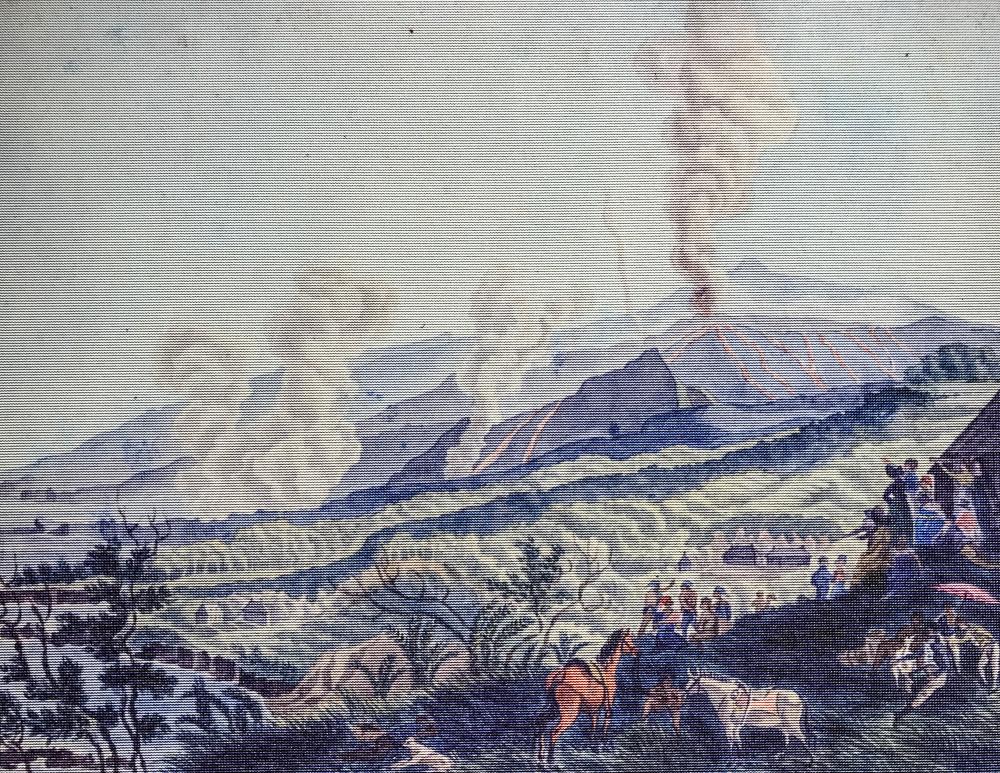Éruption du 8 septembre 1812 - Cité du Volcan