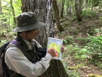 Notre guide, Kenuchi Suzuki - Les 5 lacs - Shiretoko Goko Lakes