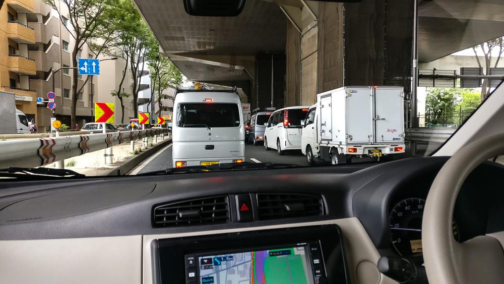 Bon,maintenant il faut sortir de Tokyo, direction le parc du Mont Fuji