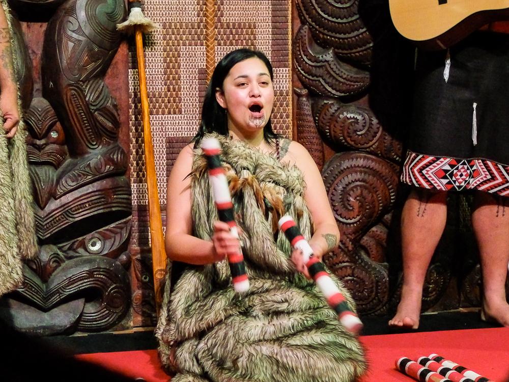 Chant traditionnel maori