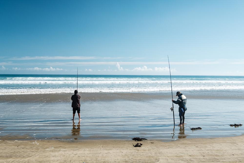 Pêcheurs ,90 miles beach