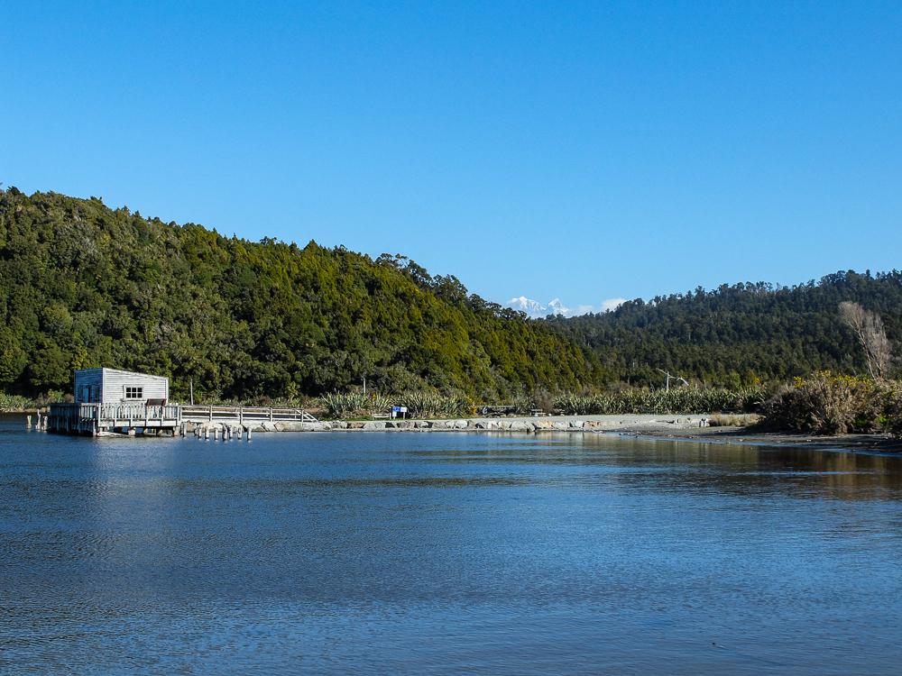 La lagune d'Okarito