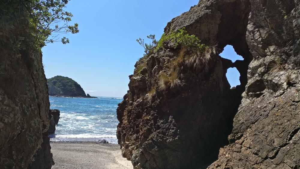 Ile Tiritiri Matangi - pause à la plage