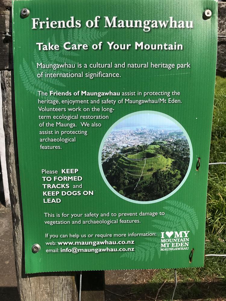 Respectons Maungawhau, le Mont Eden