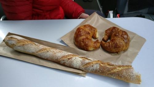 Petit déjeuner à la French touch