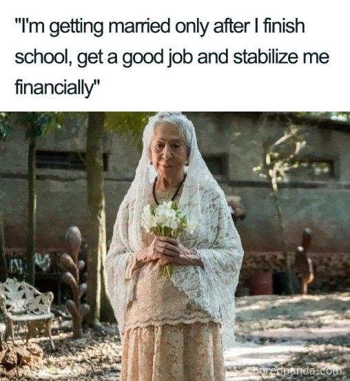 Wedding memes that's funny Af