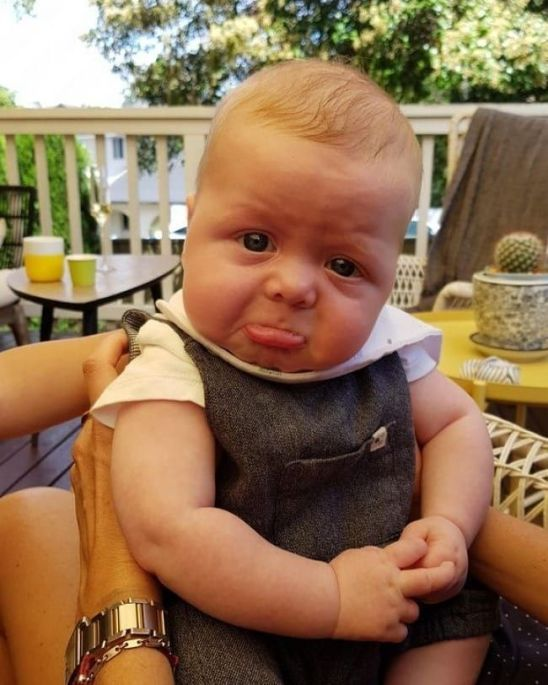 Funny Pic of Baby