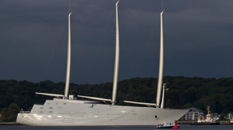 Russian Billionaire Creates Largest Yacht For 500 Million
