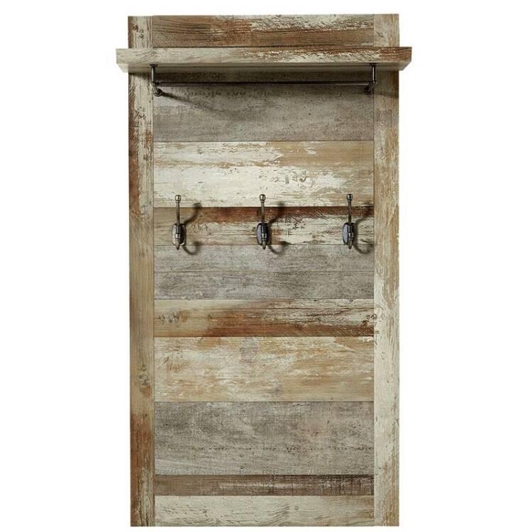 hallway wardrobe set branson 36 in driftwood nb hall cupboard with mirror w x h x d approx 160 x 188 x 40 cm