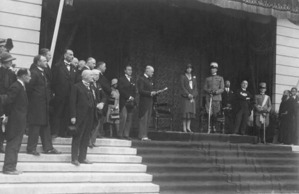 Bergamo  Ospedali Riuniti  Cerimonia inaugurale da parte