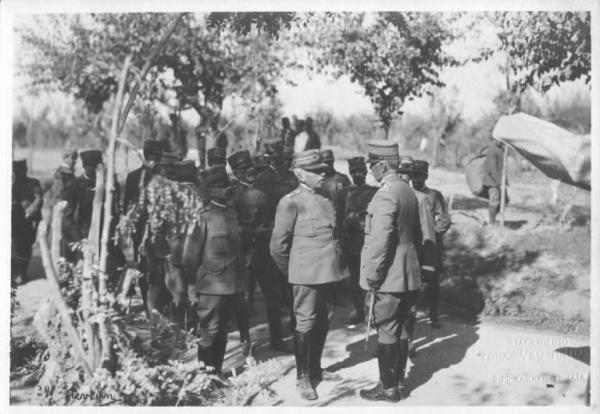 Cadorna Luigi  Rapporti con un ufficiale dellesercito