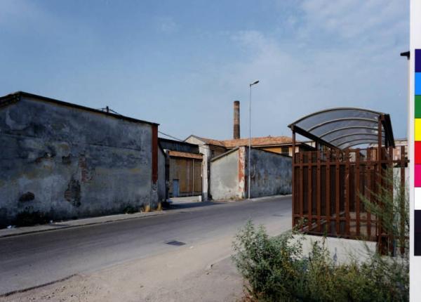 Bollate  localit Baranzate  via Trieste  via Erba  area industriale Garzia Carlo  Fotografie  Lombardia Beni Culturali