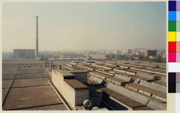 Varedo  area industriale Nylstar ex SNIA  capannoni  centro urbano De Pietri Paola  Fotografie  Lombardia Beni Culturali