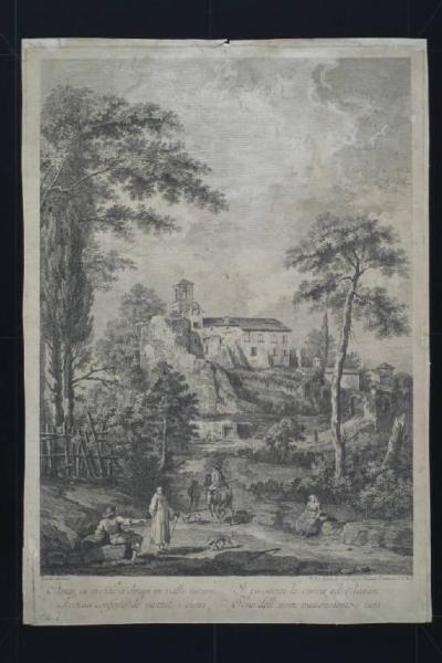 Paesaggio rurale Zocchi Giuseppe Berardi Fabio  Stampe