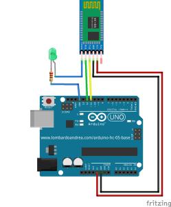 Collegamento HC-05 ad Arduino