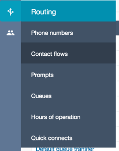 2 - create contact flow