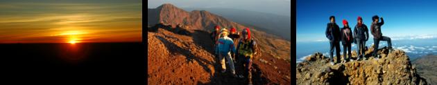 Rinjani Trekking Top 2 Days - 1 Night