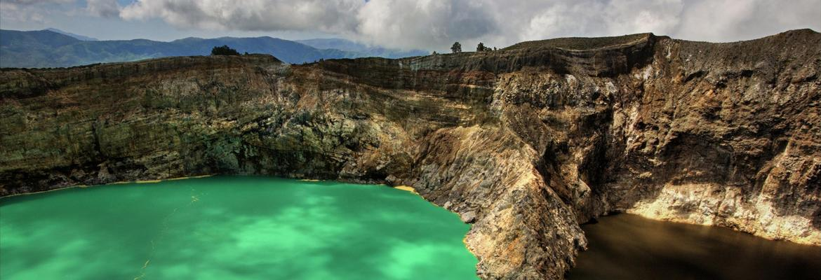 Flores Exotic Island Kelimutu 3 Colour of The Lake