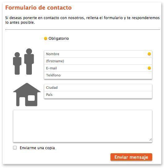 Instalar formulario de contacto en Facebook