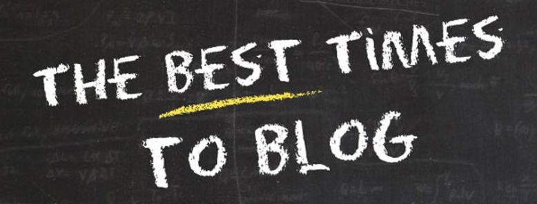 Descubre cuál es la mejor hora para publicar un post (Infografía)