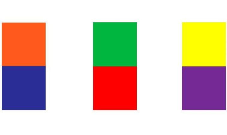 Teoría de los colores - Los colores complementarios
