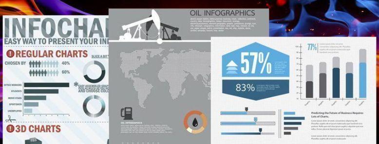 15 plantillas gratuitas para crear infografías en PSD, AI y EPS