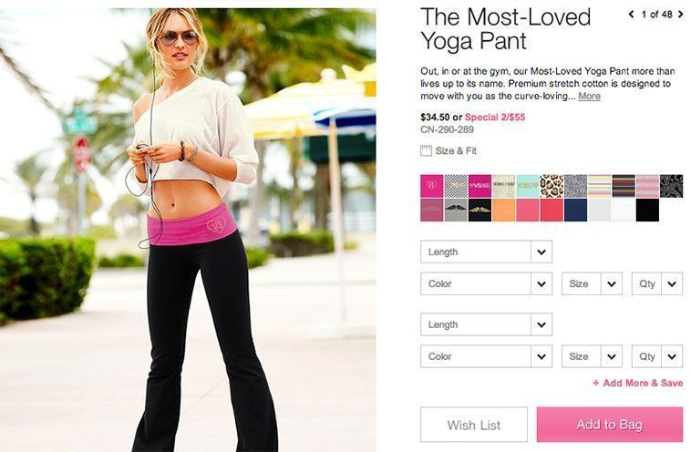 Trucos diseño de tiendas virtuales exitosas - Productos