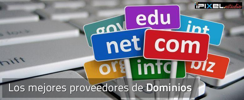 Mejores proveedores de dominios