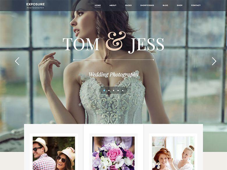 Exposure - Tema WordPress para fotógrafos y aficionados