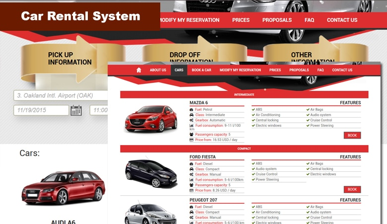 Plugin WordPress para reserva de vehículos - Car Rental System